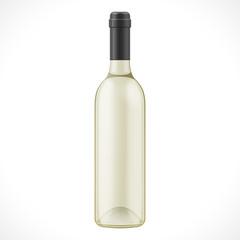 Light Glass Wine Cider Bottle