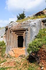 Ancient cemetery, Limyra, Turkey.