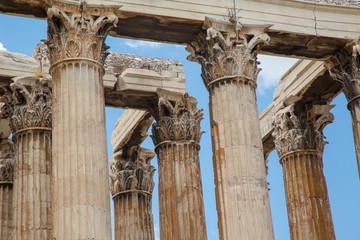 Temple of Zeus Olympia architecture.