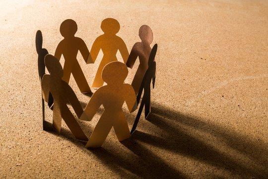Community, Support, Multi-Ethnic Group.