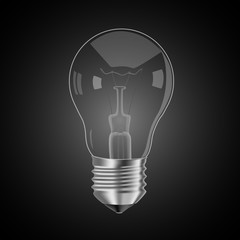 lamp black background