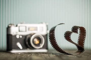 Camera, love, film.