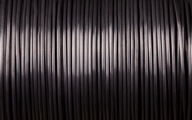 Close up of power cable.