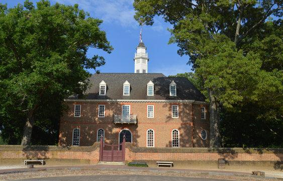 Capitol in Willamsburg VA
