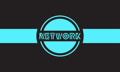 Network and Connection Concept Graphic