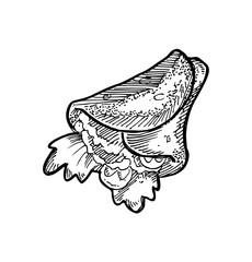 sketchy burrito