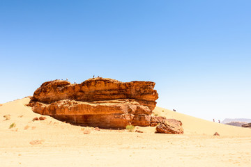 Desert of Wadi Rum, UNESCO World Heritage