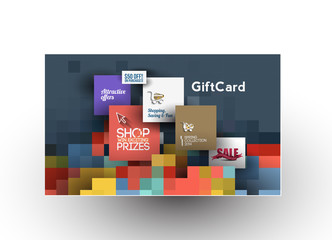 Beautiful gift card Design