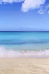 Strand Szene Hintergrund im Sommer, Urlaub mit Meer