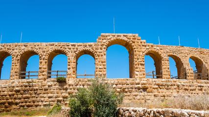 Architecture of the  Ancient Roman city of Gerasa, Jerash, jordan