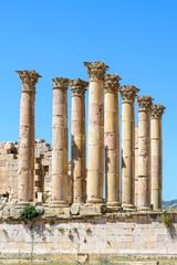 Artemis temple in Gerasa, Jerash.