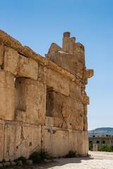 Ruins of the Qasr al Abd, Iraq Al Amir, Jordan.