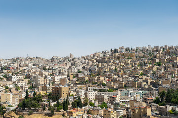 Panorama of Amman, Jordan