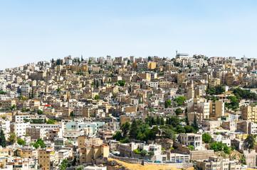 Panorama of Amman, Jordan