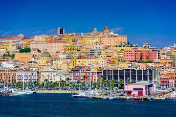 Fotomurales - Cagliari Cityscape
