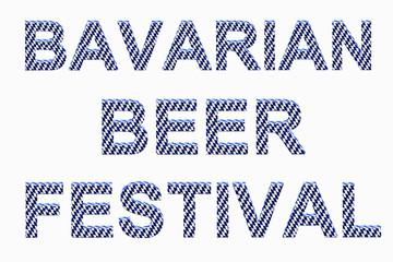 BAVARIAN BEER FESTIVAL