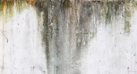 Old ruined and staind grungy wall texture Wall mural