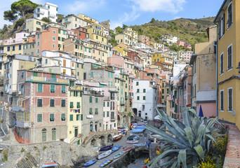 Riomaggiore colourful village, Italy