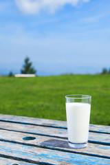 高原の牛乳