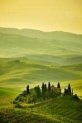 Canvas Prints Hill Tuscany hills