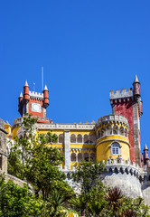 Fotomurales - Sintra, Portugal. Pena National Palace.