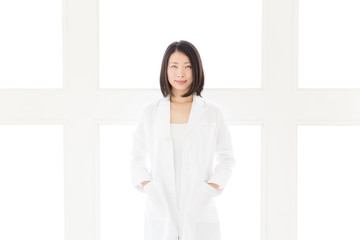 Wall Mural - young asian doctor in the hospital