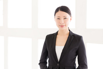 Wall Mural - asian businesswoman in the office