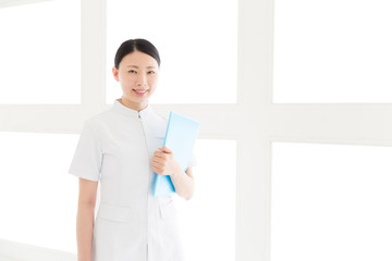 Wall Mural - young asian nurse in the hospital