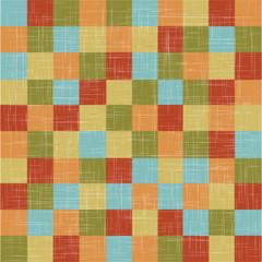 Linen quilt.