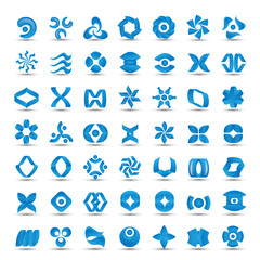 Unusual Icons Set - Isolated On White Background - Vector Illustration, Graphic Design