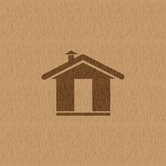 Home icon vector.