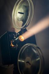 Nostalgic film projector