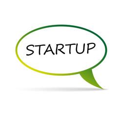 startup bubble - vector