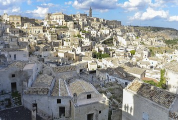 Sassi di Matera Italy view