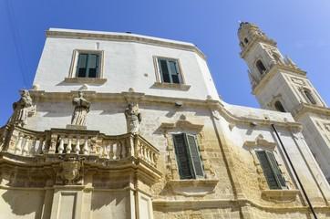 Leche square , Puglia, Italy