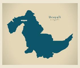 Modern Map - Ucayali PE