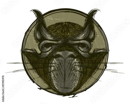 quotgrumpy grunge catquot stock image and royaltyfree vector
