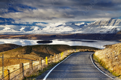 Wall mural Southern Alps, New Zealand