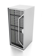 Isolated network server