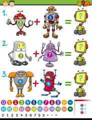 cartoon mathematical education game