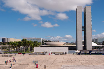 Brazilian National Congress, Brasilia, Brazil