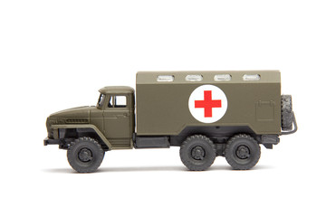 toy military medical truck