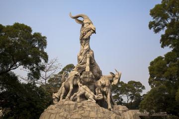 越秀公園の五羊仙庭