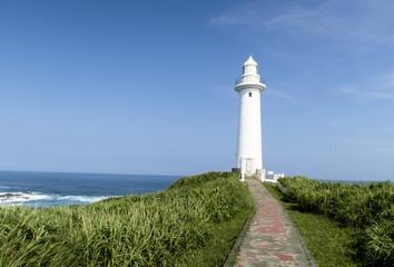 爪木崎公園の灯台