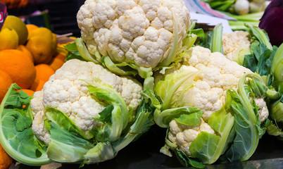 Brassica oleracea large cauliflower cooking