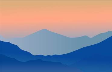Mountains background