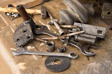 old used tools