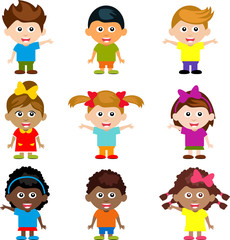 cartoon funny happy kids