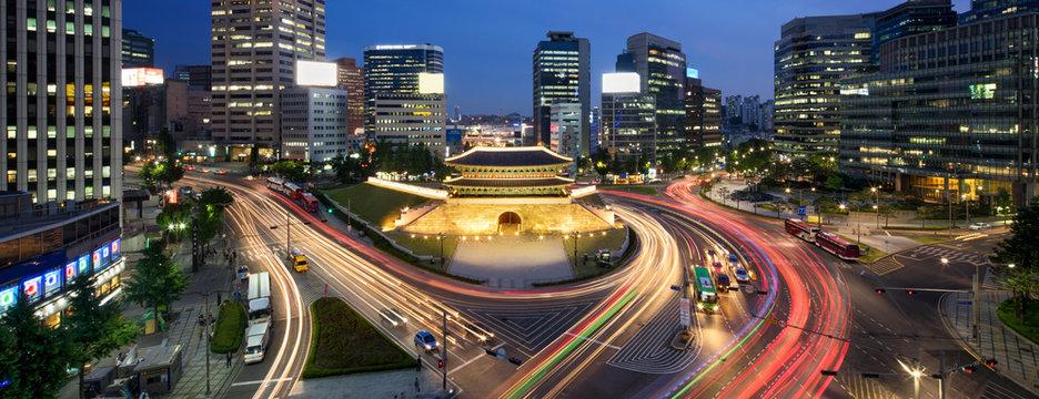Sungnyemun Namdaemun Gate in Seoul Korea