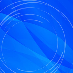 Abstract bright blue background with white lines